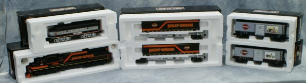 13: 5 pc set, Rail King by MTH Electric Trains Harley-D
