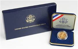 $5 1987 Gold Constitution Coin