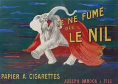 """Leonetto Cappiello Poster """"Je Ne Fume"""""""