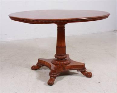 Italian style carved Mahogany center table