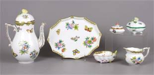 (6) Pcs Herend Porcelain