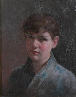 "William Merritt Chase ""Portrait of a Boy"""