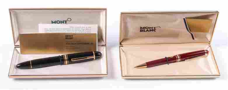 Montblanc Meisterstuck 149 and Pencil