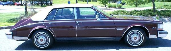 350: 1983 Cadillac Seville, 26,000 original miles, Maro