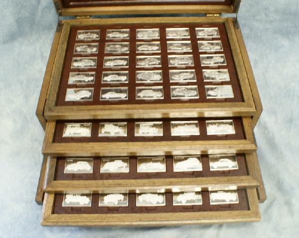 86: Sterling silver Centennial Car Ingot Collection, mi