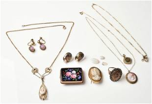 Gold Filled Vintage Jewelry Lot