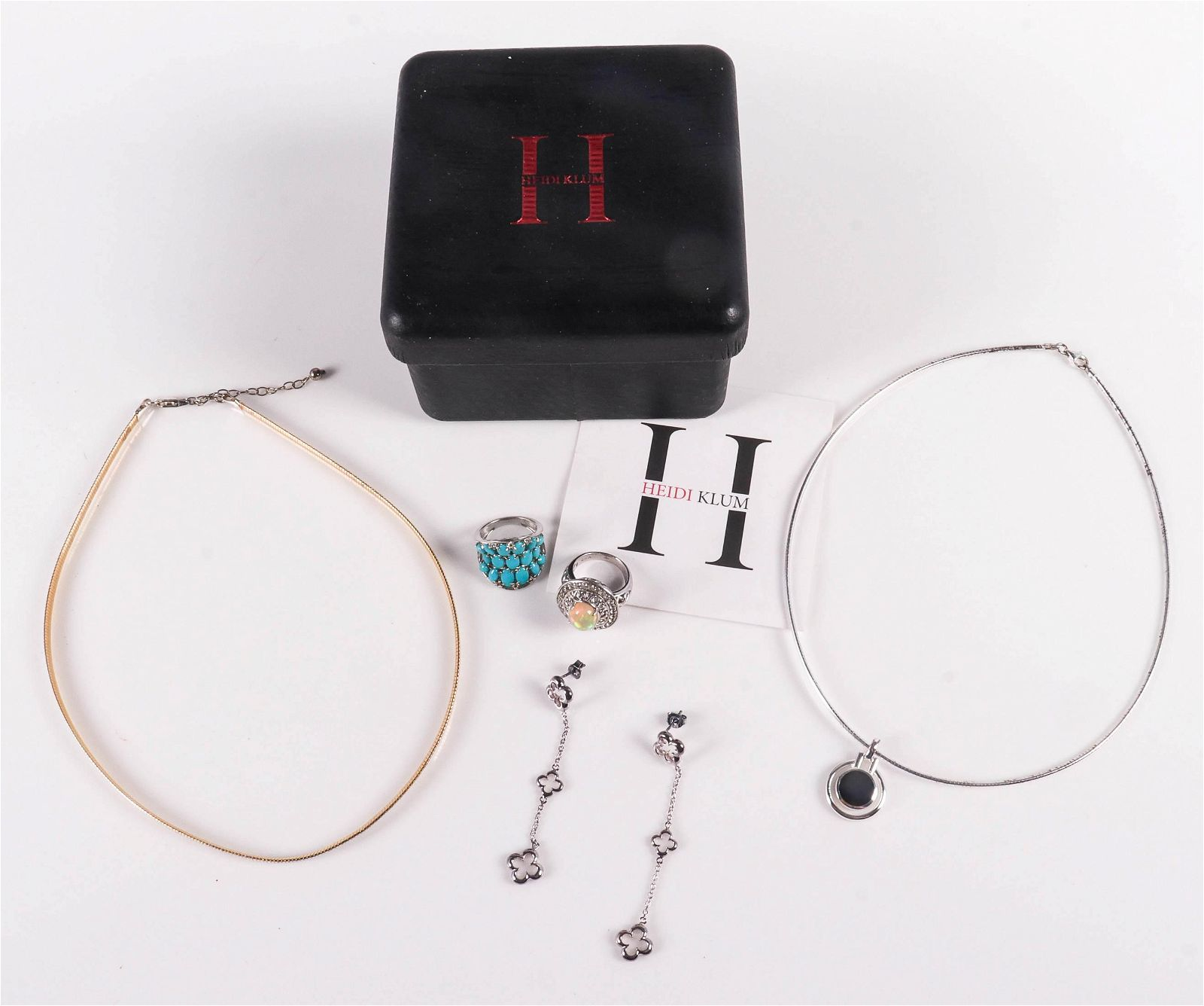 Contemporary Sterling Silver Jewelry