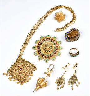 (7) Filigree Jewelry Group