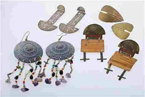 (4) Pairs of Studio Earrings