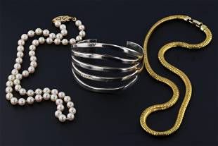 (3) Pc Jewelry Lot