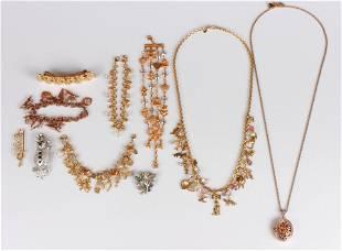 (10) Kirk Folly Jewelry Lot