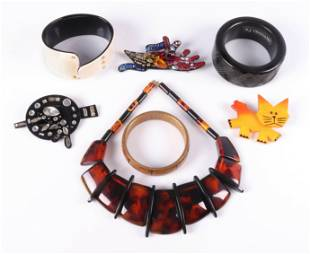 (7) Pc Contemporary Designer Fashion Jewelry Group