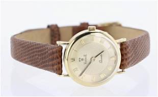 14K YG Vicence Gold Watch