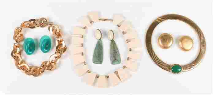 (6) Contemporary Fashion Jewelry Lot