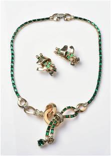Vintage Mazer Jewelry Set