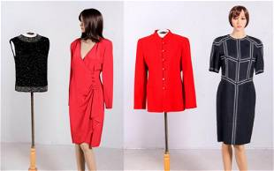 (4) Pc Vintage Garment Grouping
