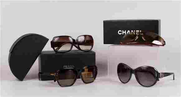 (4) Pair Designer Sunglasses