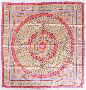 Hermes Donner La Main Silk Scarf