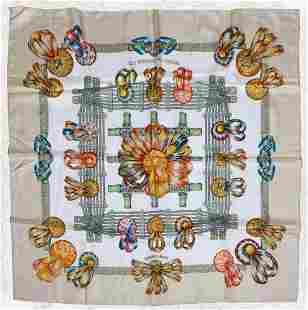 Hermes Le Rubans Du Cheval Silk Scarf