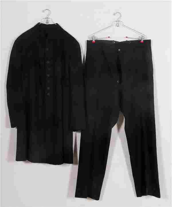 Edwardian W.M.H Horstmann Co. Black Wool Tuxedo