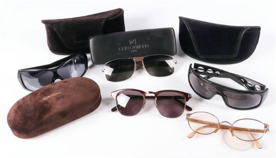 (5) Pair Designer Glasses and Sunglasses