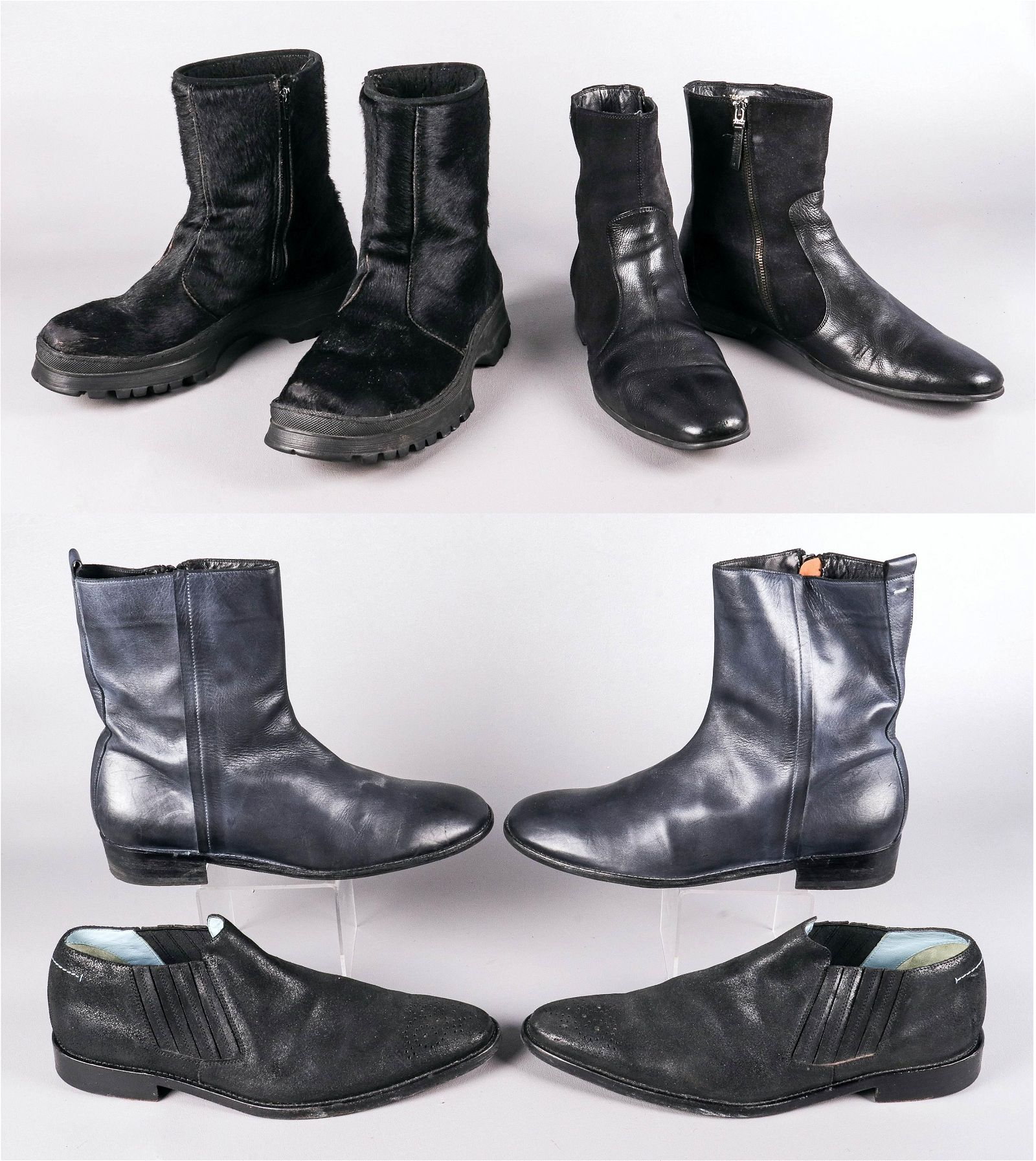 (4) Pair Designer Boots and Shoes