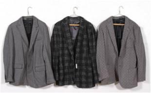 (3) Giorgio Armani Knit Blazers