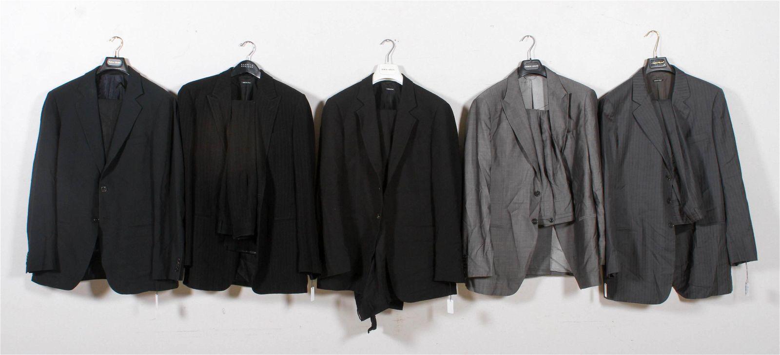 (5) Giorgio Armani Suits