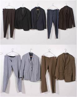 (6) Prada Suits and Designer Garments