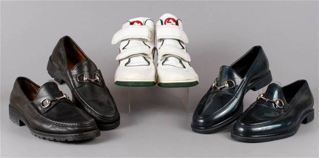 (3) Gucci Loafers and Sneakers