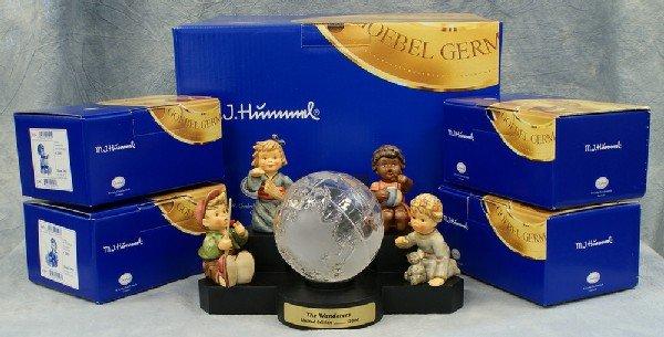 13: 4 Hummel figurines: The Wanderers Collectors Set (m