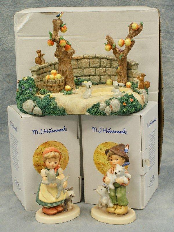 "14: 2 Hummel figurines: Tender Love - 2007, 4"" tall; Fr"