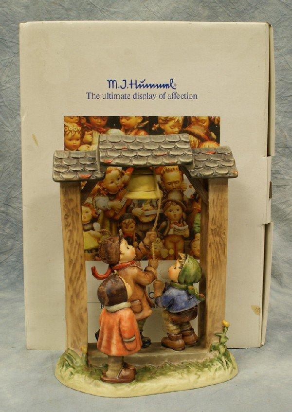 19: Hummel figurine: Let's Tell The World - 487, 10 1/2