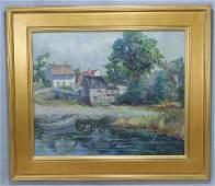 1409 American Impressionist School 20th c oartist b