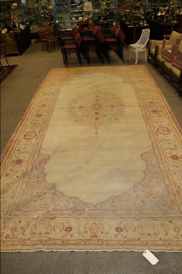 1015: 9.2 x 17.11 Amritsar carpet, overall wear through