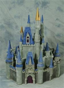 Paddy Gordon Cinderella's Castle sculpture, Disneyan
