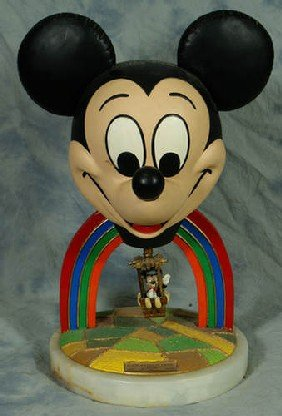 10: Ron Lee ceramic Mickey Mouse figurine, ear force 1,