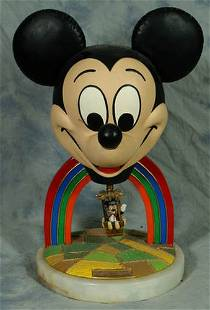 Ron Lee ceramic Mickey Mouse figurine, ear force 1,