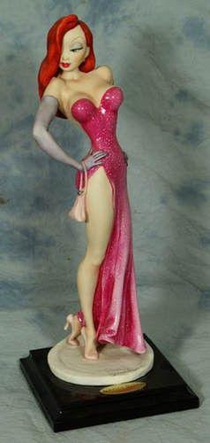 Armani porcelain figurine, Jessica Rabbit, ed 373 o