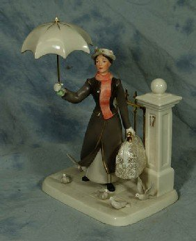 Lenox Porcelain Figurine, Practically Perfect In Ev