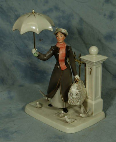 17: Lenox porcelain figurine, Practically Perfect In Ev