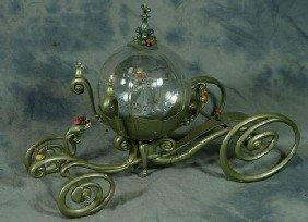 Cinderella Coach Snow Globe, By Jody Daily, With Ce