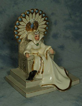 21: Lenox Porcelain figurine, Court of the Wicked Witch
