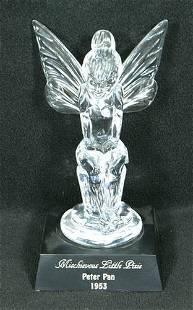 Waterford Crystal figurine, Peter Pan, Mischievous