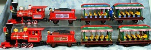 173: (2) Walter E Disney, 4 pc World Railroad Train set