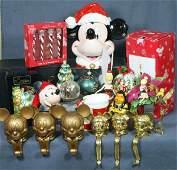 325 22 Disney Christmas items including 7 stocking h