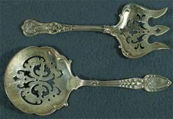 21 2 Tiffany  Co sterling serving pieces English K