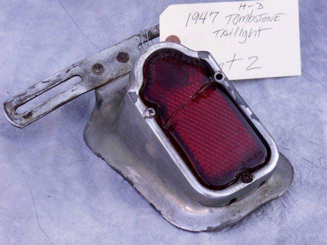 2: 1947 Tombstone taillight