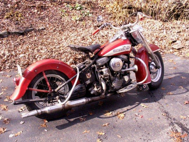 15A: 1956 Harley Davidson FLH