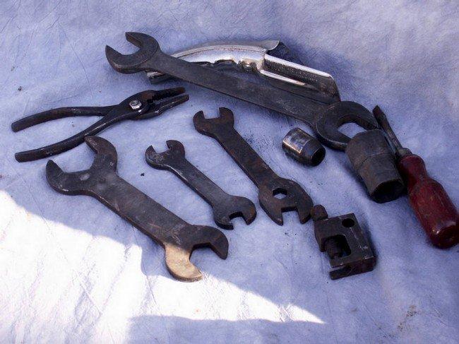 16: Original tools from tool kit